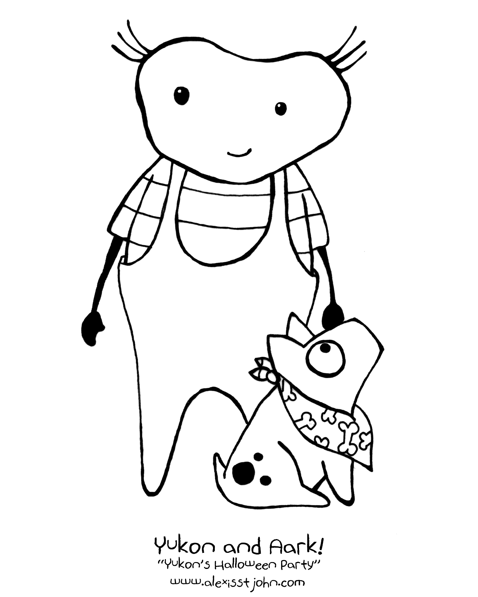Coloring Pictures Of Alexis Coloring Pages